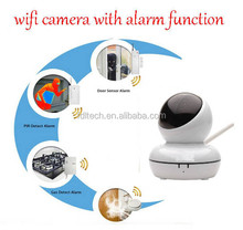 FDL-WF8 P2P Home/Office Alarm Camera System with Door Sensor Plug and Play