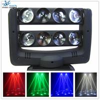 led spider beam light 8pcs 10w 4 in 1