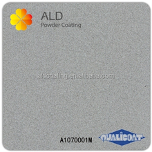ALD powder coating shiny silver spray paint
