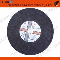 16'' 400mm Ultra Thin Fiber Reinforced Resin Bond Cutting Disc