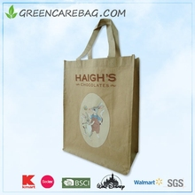 cheap price non woven brown kraft paper bag with handles for food