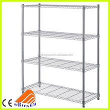 ce certificate hospital wire shelving,steel pipe storage rack,back wire shelves