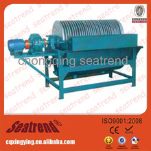 ISO9001 high efficiency low noise mineral inline magnetic separator
