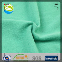 100% polyester tricot brushed school uniform material fabric