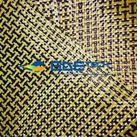 Carbon kevlar composite fabric carbon fiber/kevlar fiber fabric hybrid red carbon fiber cloth