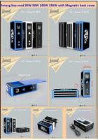China supplier Variable Wattage mod 100W 150W box mod Original in stock hookah pen vaporizers mod