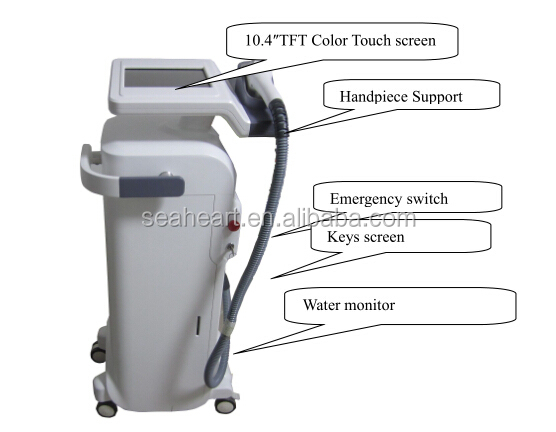 best hair removal 808 diode laser machine