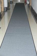 Polyester stripes carpet