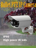 Auto tracking 2MP 10X optical Night Vision PTZ IP Vandal proof Camera and WDR-Pro cctv zoom camera