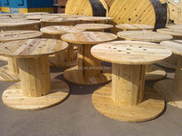 Supply flange 1800mm wooden cable drum reel