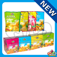 bulk health fruit juice beverage powder (apple orange mango strawberry flavors)