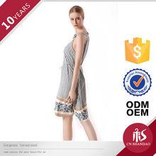 OEM Cheap Price Original Style Hollow Out Cotton Dress Beaded Ladies Night Dress Sex