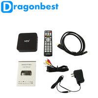 Dragonbest AMLogic MX A9 dual core 1.5GHz tv android box quad core mx2 android tv box fully loaded xbmc