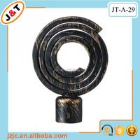 direct factory portable plastic shower curtain rod plastic pipe end caps