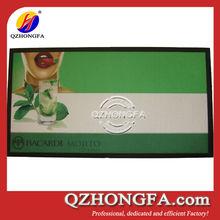 rubber bar mat,nitrile rubber bar mat, fabric custom rubber bar mat