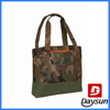 camo custom tote shopping bag with laptop compartment