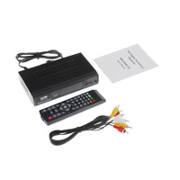 DVB-T2 Hot-sale HD Digital Video Broadcasting Terrestrial Receiver Set Top Box Compatible with MPEG-2 / MPEG-4 V1063