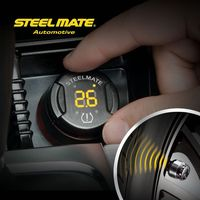 Hot sell steelmate TP-70 B wireless DIY tpms cheap tpms,tpms digital monitor system truck tire tpms, wheel keychain
