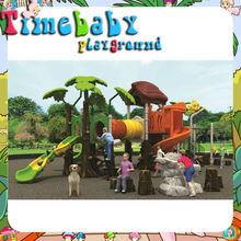 HSZ-KP5007B curved slide playground slides, rubber tiles outdoor playground