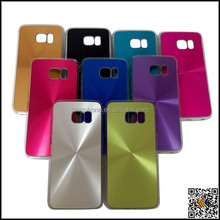 ALL MOBILE PHONE MODELS!!2015 cheapest CD texture grain plastic+aluminum case for iphone/HTC/LG/samsung/Nokia cell phone cases