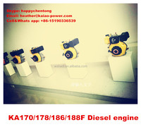 small 4 stroke air cooling single cylinder 186 diesel engine CE&ISO Approved