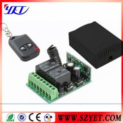 Wireless Rolling Code,Universal Rf Car/Garage Door Remote Control YET007