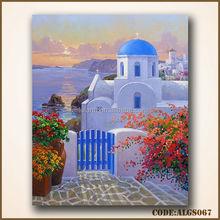 Beautiful Greece oil painting