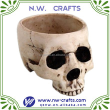 skull candle holder Halloween decoration