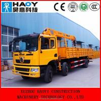 12 ton mini dump truck with crane 4 booms radio control for sale