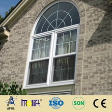 AFOL luxury design round vinyl windows pvc window for home