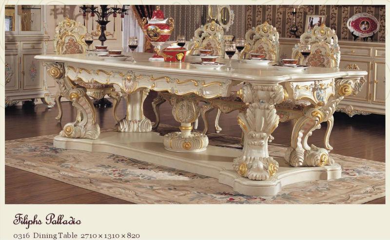 ... design eetkamer meubilair- franse klassieke eetkamer meubelen