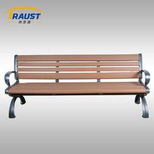Outdoor furniture wooden leisure bench, garden chair