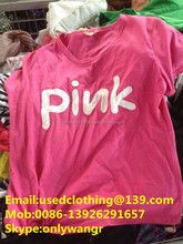 Used clothes bales of new clothes china overstock goods