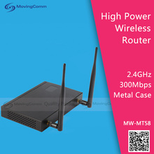 2.4GHz Wifi Advertising Router Model MW-MT58 IEEE 802.11n 2T2R 300Mbps 500mW
