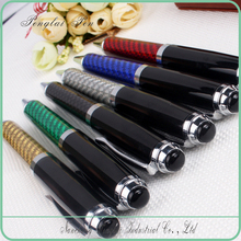 high quality gift pens for men, for promotional colorful Carbon fiber pen