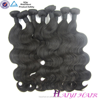 High qulaity large stock virgin body wave Indian Hair Weave
