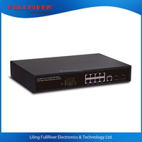 FR-S3010PEGF-C _ 8-port 100Mbps/1000Mbps+2SFP port POE switch managed 150W power supply