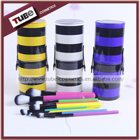 2015 Hot Products Makeup Brush 10pcs Colorful Makeup Brushes Make Up Brush Case