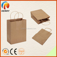 Recycled Brown Package Paper Bags