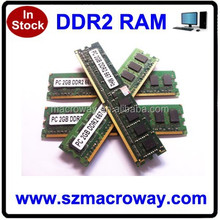 Export high speed Best Ddr2 Ram Pc6400 8chips Good Price
