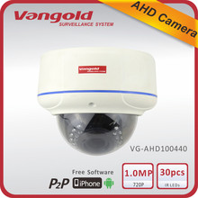 720P HD Security Dome AHD camera 30M Waterproof
