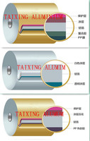 lacquer coated aluminum foil for food container ( trays )