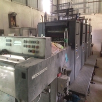 Used 4 color heidelberg MO offset printing machine for sale