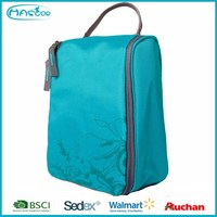Promotional wholeasle travel cosmetic bag with china manufacturer