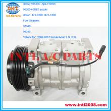 A / c compresor 5pk denso 10S13C para 2002-2007 Suzuki Aerio 2.0L 2.3L 95200-65DE0 9520065DE0 471-0390 471-1390 447220-4581