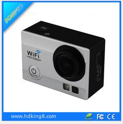 seller 2.0 inch SOS light RF Remote waterproof full hd 1080p sport camera wifi