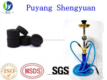 5*20/100pc 33mm electronic natural wood hookah charcoal market