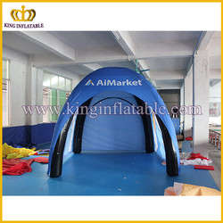 Outdoor inflatable camping tent, PVC inflatable tent for activities, advertising inflatable tent