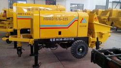 delivery trailer pump by concrete machinery concrete pump with advanced configuration and reasonable price China supplier