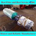 Polea del motor, motor eléctrico de acero polea, motorizado de acero tambor